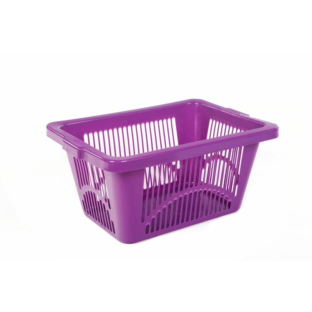 Rectangular basket